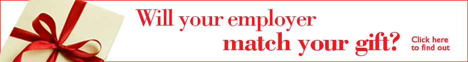 Will your employer match your gift?