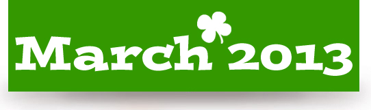 March 2013 Banner