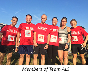 Members Team ALS with Caption