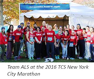 Team ALS 2016 TCS NYC Marathon