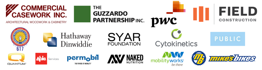 Thank you to our 2018 Sponsors! 850x228px v3