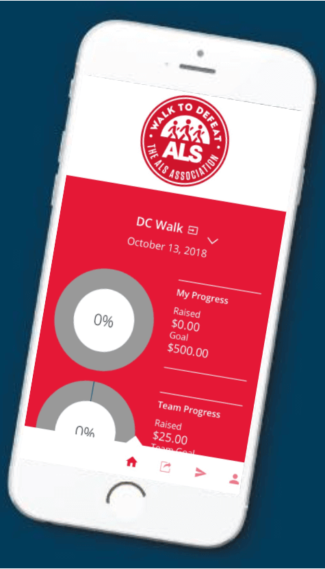 Walk to Defeat ALS App