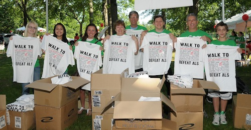 Walk to Defeat ALS Volunteers