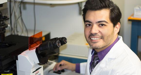 ALS Researcher Javier Jara, Ph.D.