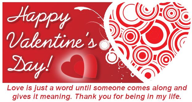 valentine's day card graphic