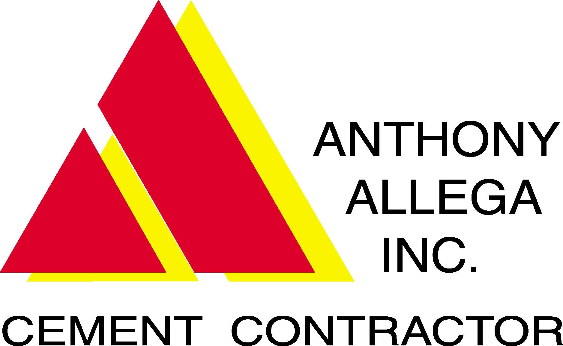 Anthony Allega Cement Contractor Logo